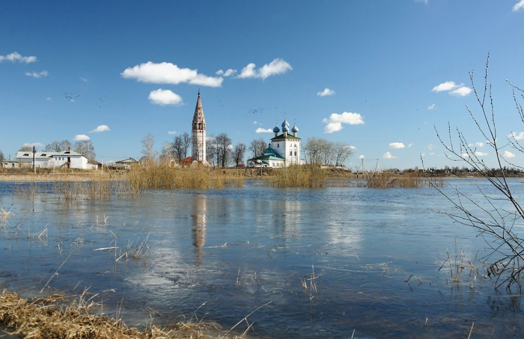 Успенский храм в селе Большие Всегодичи Ковровского района 01
