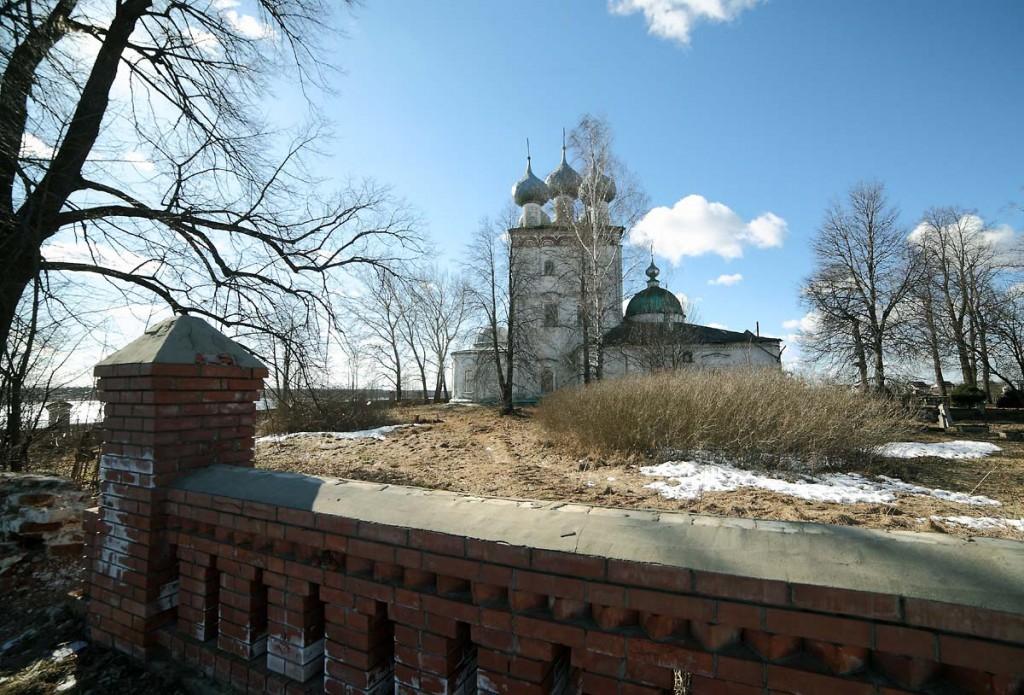 Успенский храм в селе Большие Всегодичи Ковровского района 03
