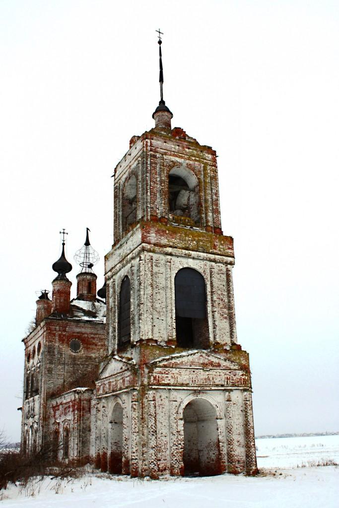 Церковь Флора и Лавра 1803 год., Суздальский район, село Кибол 01