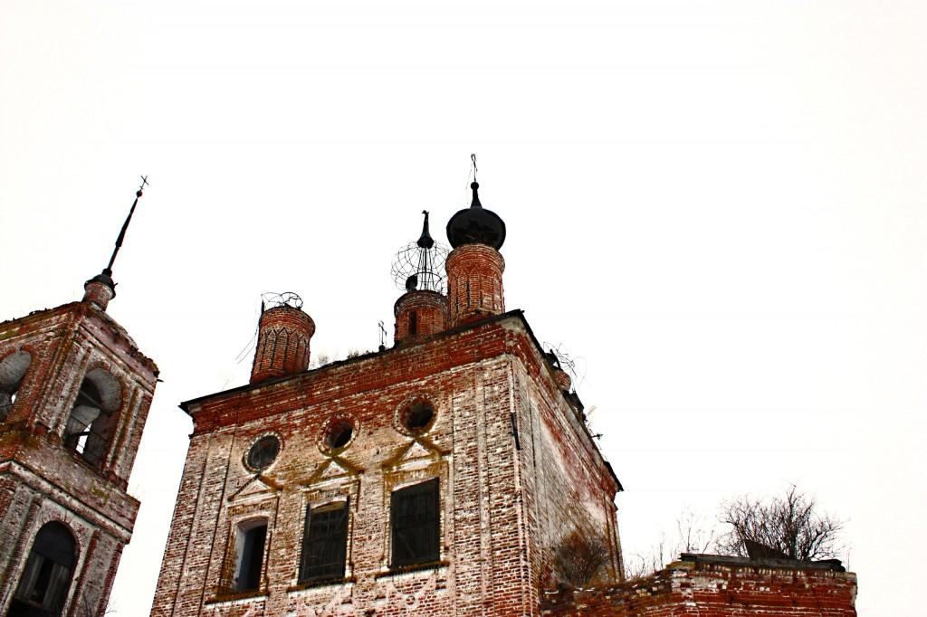 Церковь Флора и Лавра 1803 год., Суздальский район, село Кибол 06