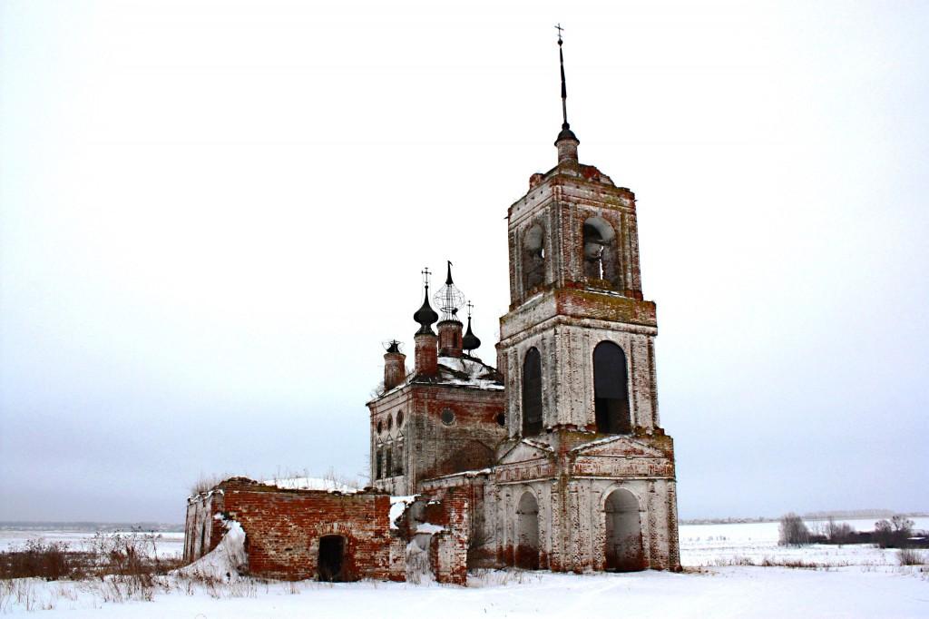 Церковь Флора и Лавра 1803 год., Суздальский район, село Кибол 24