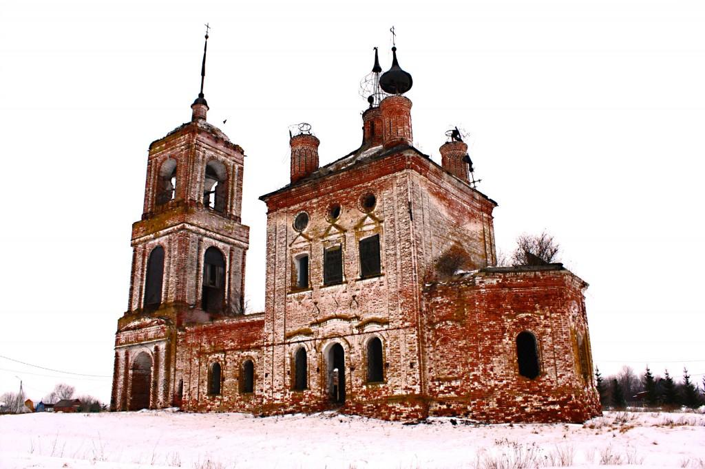 Церковь Флора и Лавра 1803 год., Суздальский район, село Кибол 25