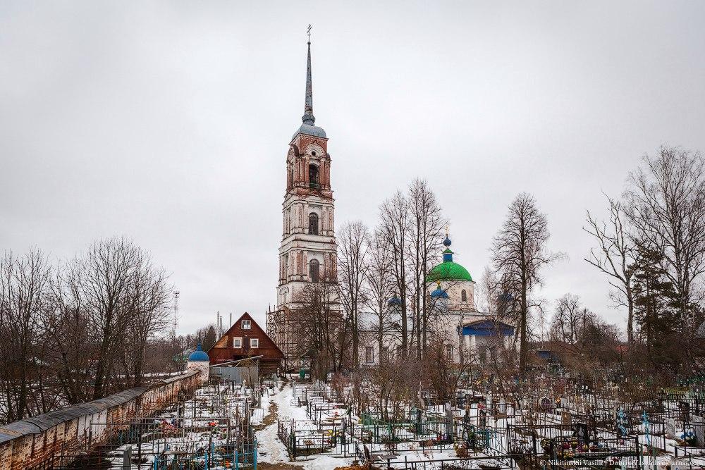 с. Давыдово, Камешковский район 01