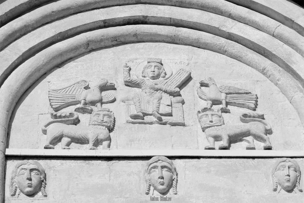 Архитектурные детали храма Покрова на Нерли 03