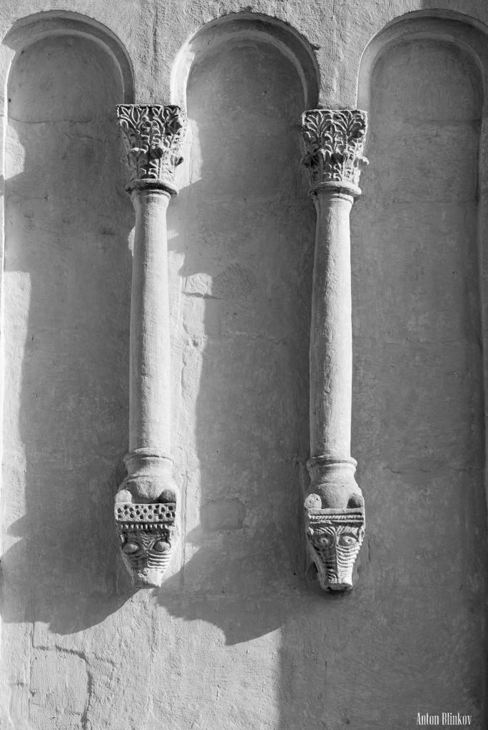 Архитектурные детали храма Покрова на Нерли 06