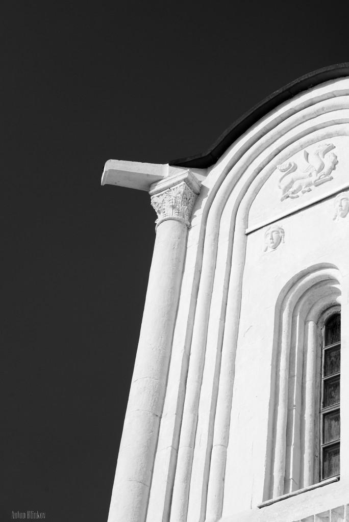 Архитектурные детали храма Покрова на Нерли 07