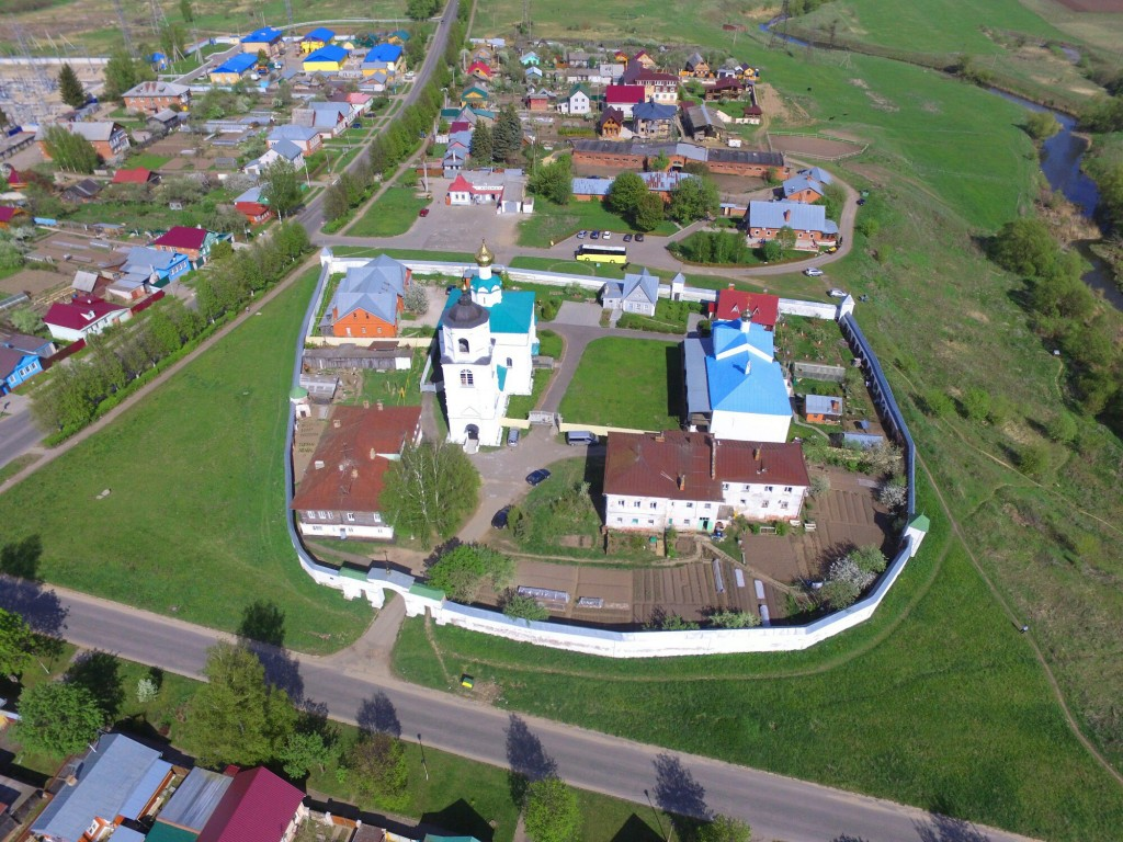 Васильевский монастырь в Суздале Владимирской области 02