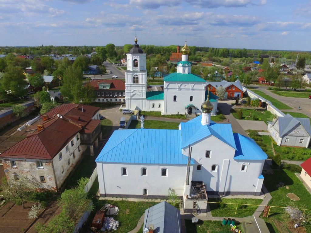 Васильевский монастырь в Суздале Владимирской области 09