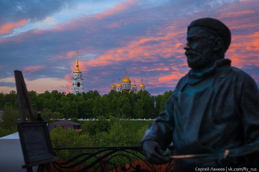 Весенний вечер во Владимире 10