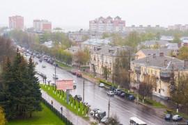 Владимирские крыши. Дождливая весна.