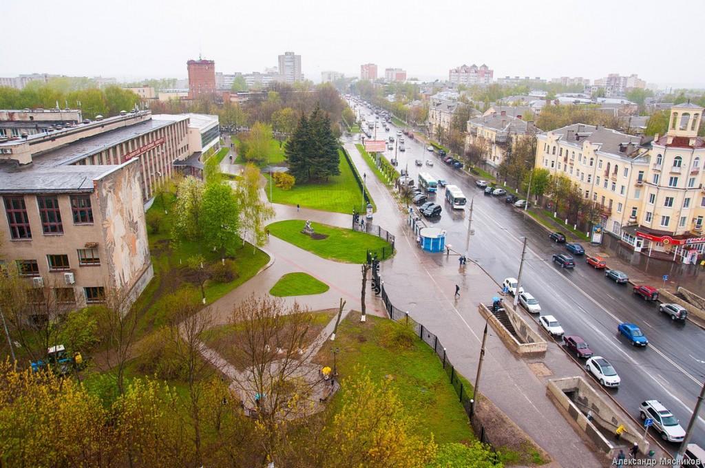 Владимирские крыши. Дождливая весна 02
