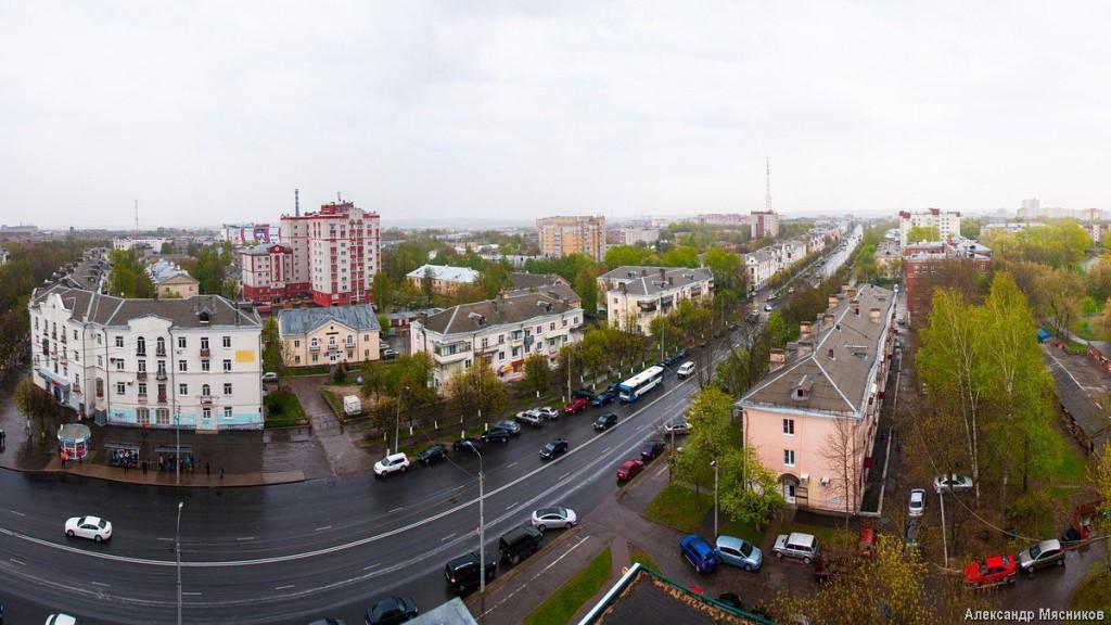 Владимирские крыши. Дождливая весна 03
