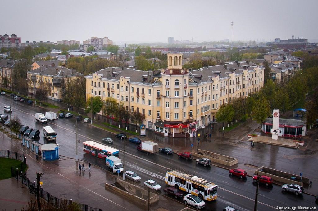 Владимирские крыши. Дождливая весна 04