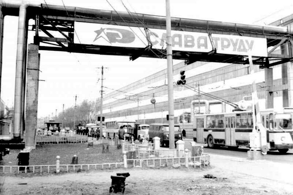 Владимирский троллейбус 1950 - 1980-х гг. 02