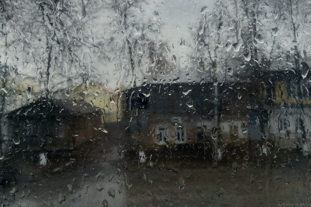 Конец апреля. Дождливая пора... (р-он. Центр, Вязники, Владимирская обл.)