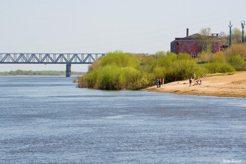 Муром. Открытие пляжного сезона в мае
