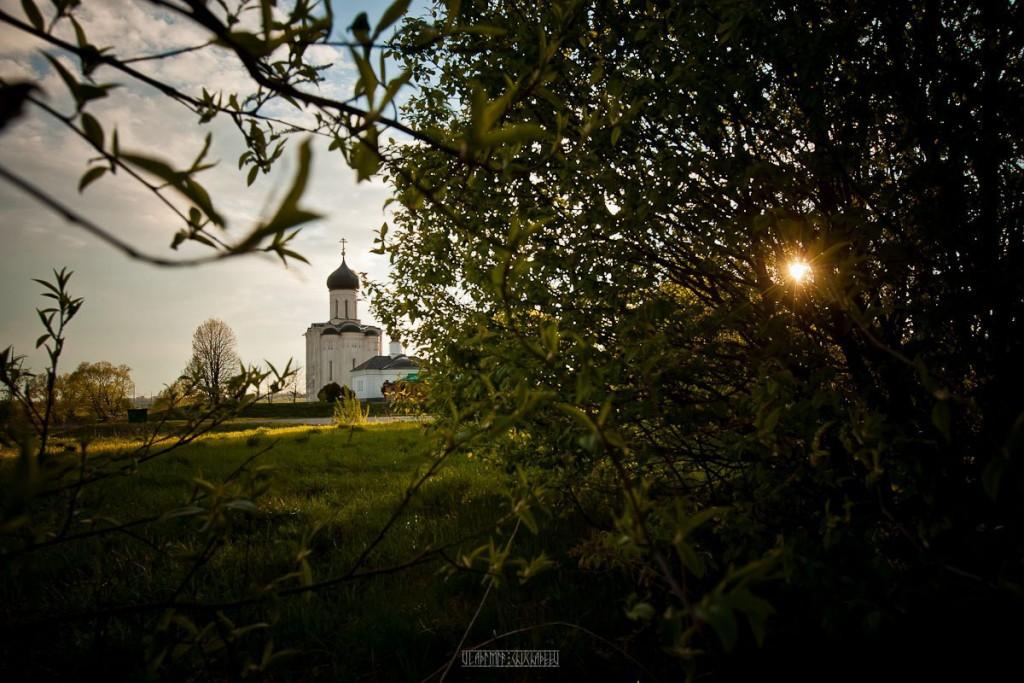 Невероятно красивый закат в Боголюбово! 04