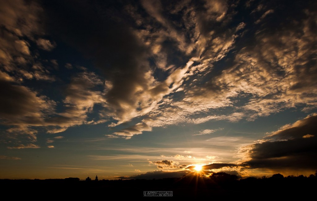 Невероятно красивый закат в Боголюбово! 09