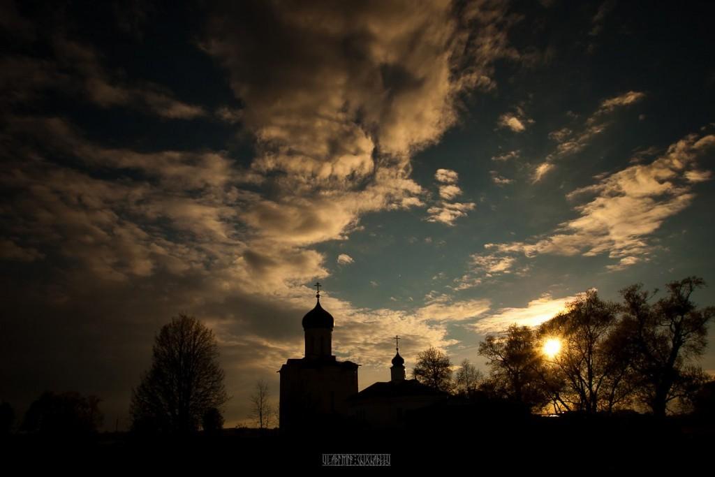 Невероятно красивый закат в Боголюбово! 10