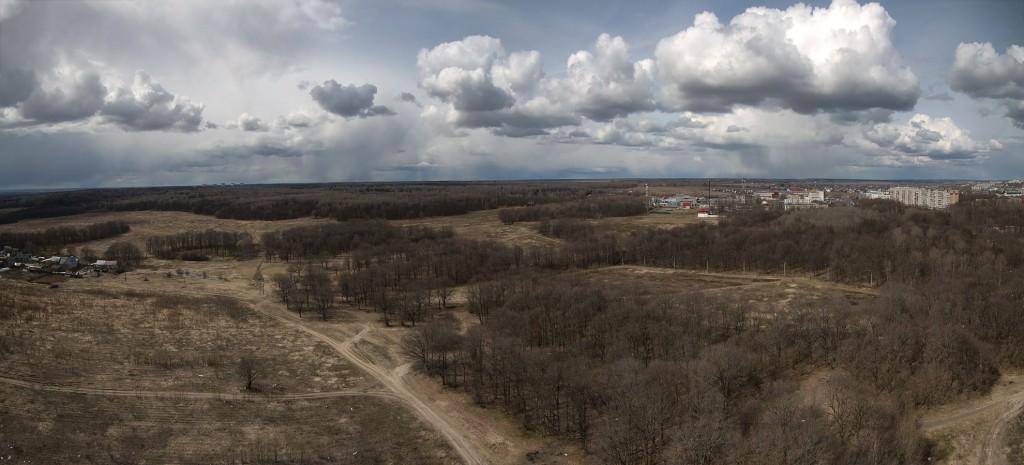Панорама парка Дружба, Владимир
