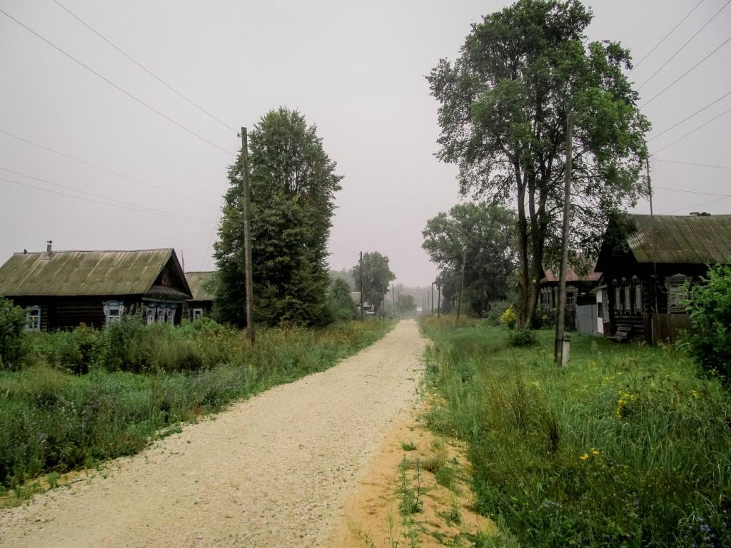 Пасмурное утро в деревне Надеждино, Селивановский район