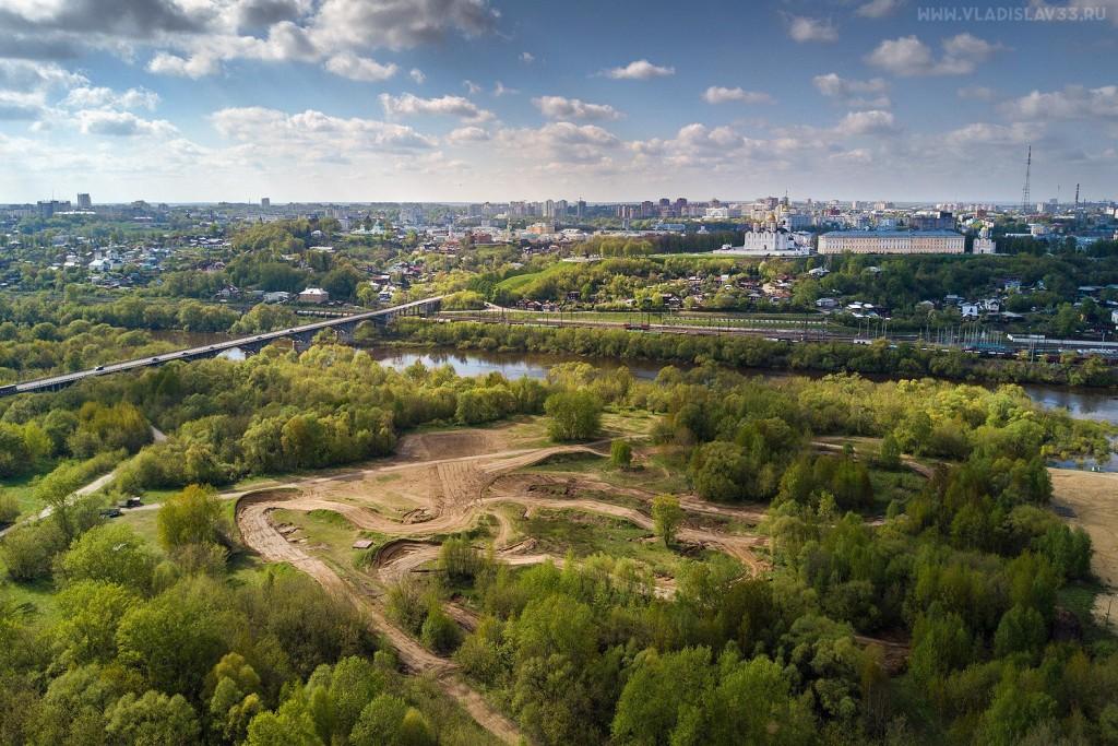 Солнечная весна во Владимире с высоты 01