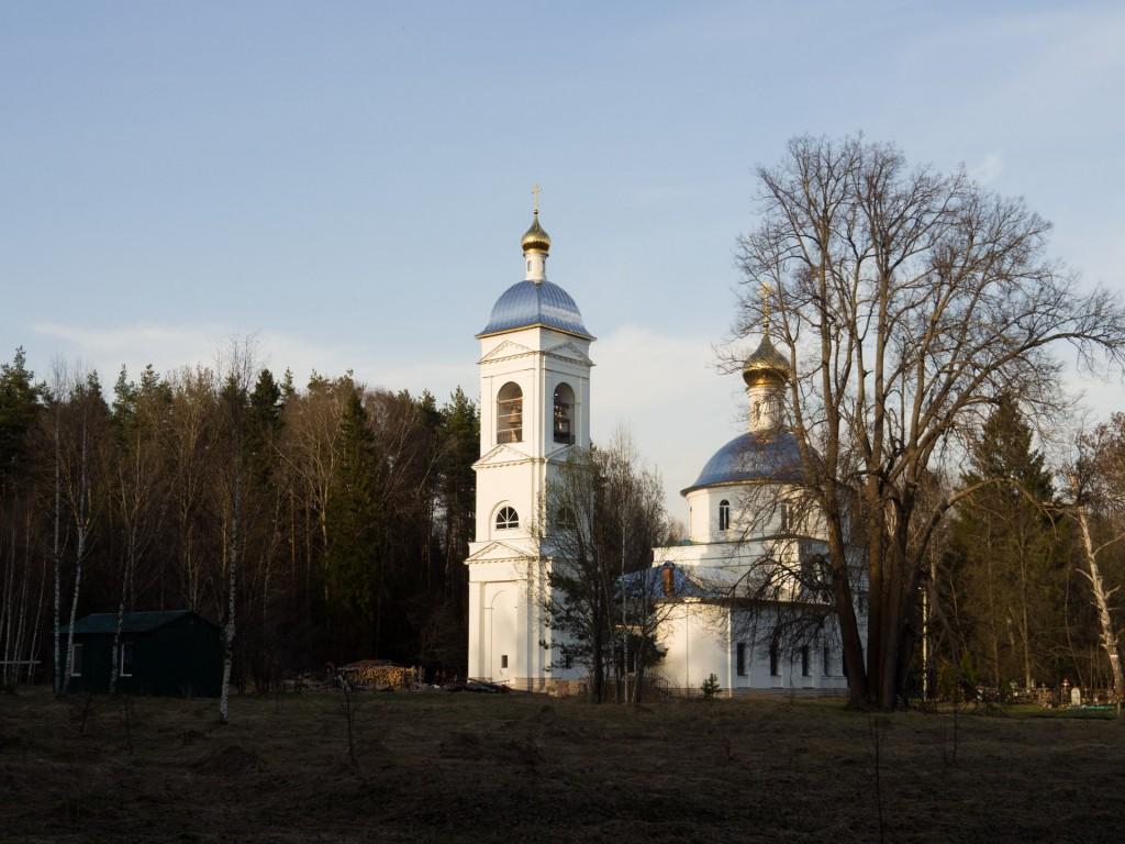 Церковь Андрея Первозванного на Андреевском Погосте, 1825 г.