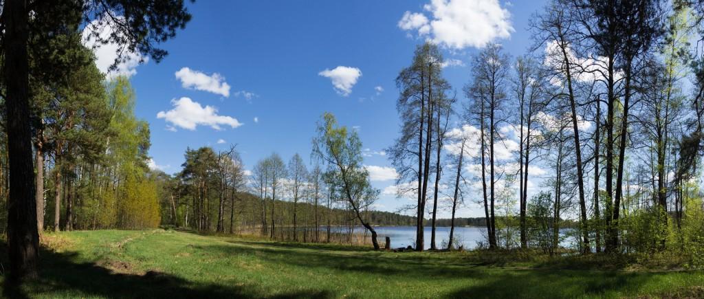 Шитское (Чёрное) озеро, г. Покров