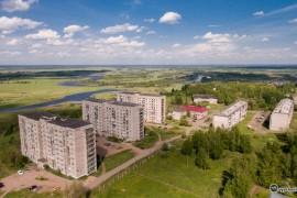 г.Вязники м-н Текмаш с видом на Подгорное озеро и Клязьму