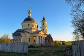деревня Воскресенье, Петушинский р-н, Воскресенская церковь, 1818-1827