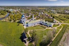 Весенний Суздаль с высоты от Владислава Тябин