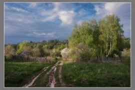 Весенний городок Вязники. А смотрится неплохо :)