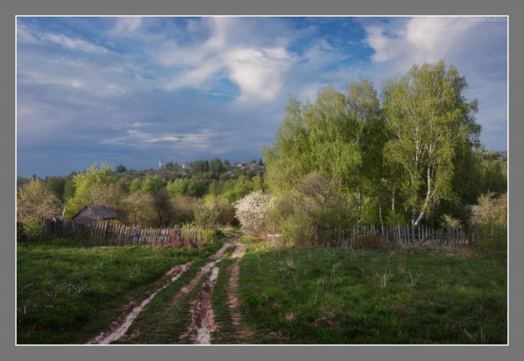 Весенний городок Вязники