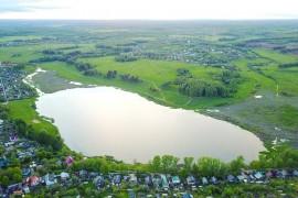 Дичковское озеро в Александрове Владимирской области