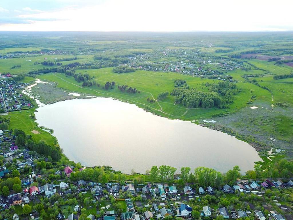 Дичковское озеро в Александрове Владимирской области.