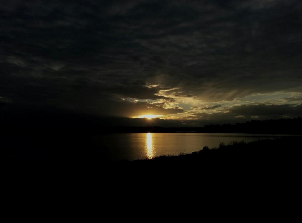 Закат на озере, Гусь-Хрустальный