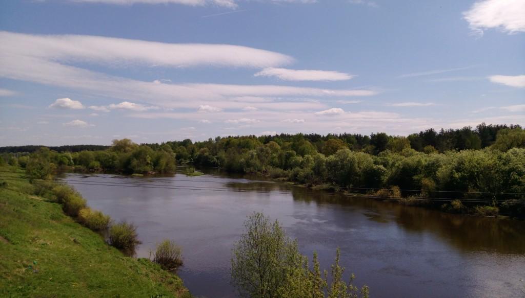 Клязьма в Петушинском районе. Фото из сплава по реке. 01