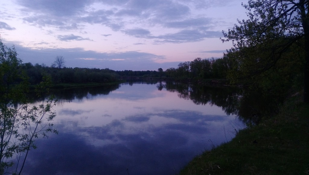 Клязьма в Петушинском районе. Фото из сплава по реке. 05