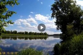 Отдых на Клязьме-реке (тайм-лапсы). Вело-рейд 8 июня 2017.