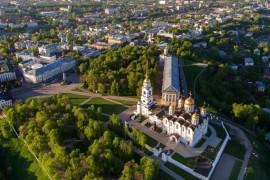 Пролетая над землей Владимирской: г. Владимир