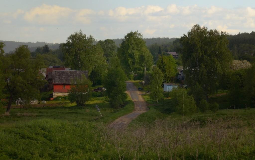 Село Павловское после дождя, Юрьев-Польский р-н