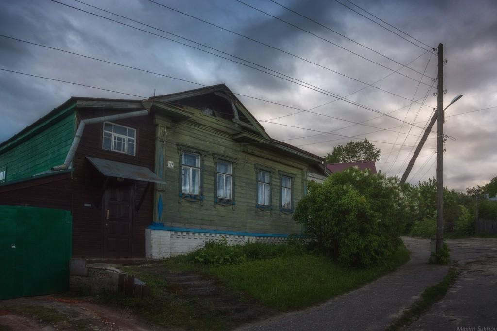 Цвет сирень на ул.Орджоникидзе, Вязники 02