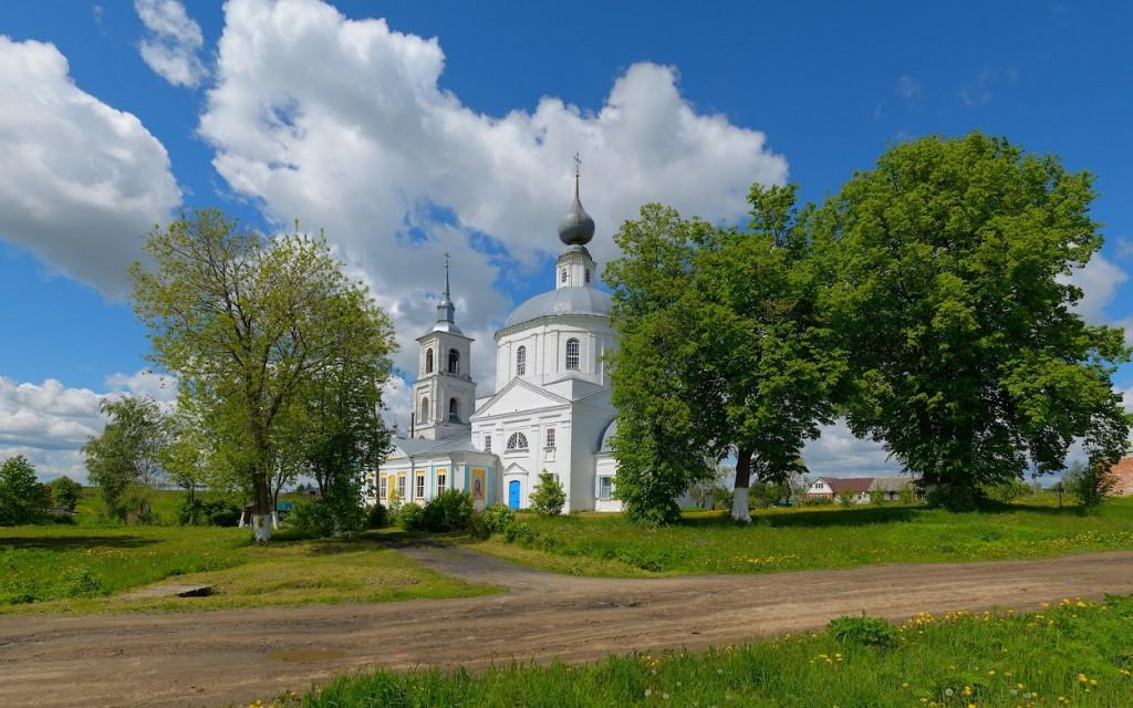 село Лыково, Юрьев-Польский р-н Покровская церковь, 1811 02
