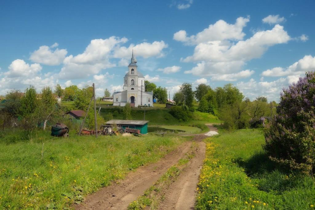 село Лыково, Юрьев-Польский р-н Покровская церковь, 1811 08