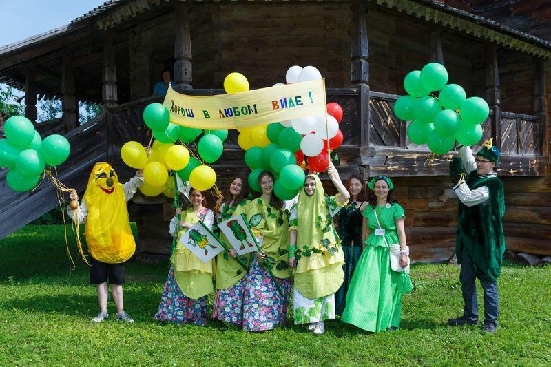 Веселый Праздник огурца-2017 в Суздале 05