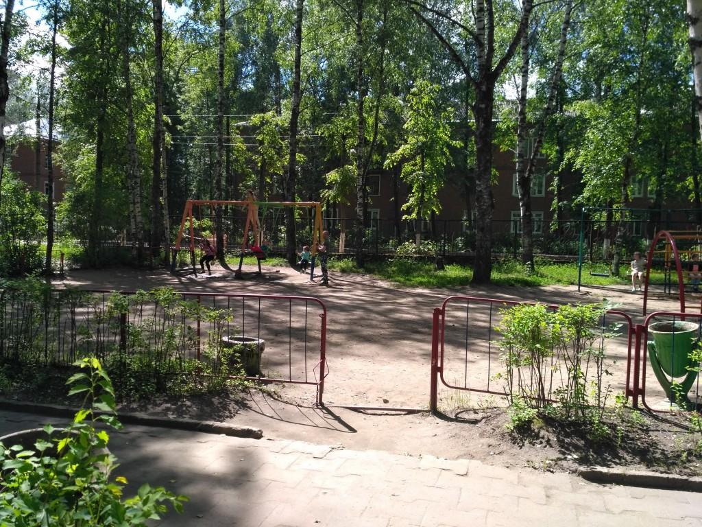 Городской парк культуры и отдыха в Карабаново 10