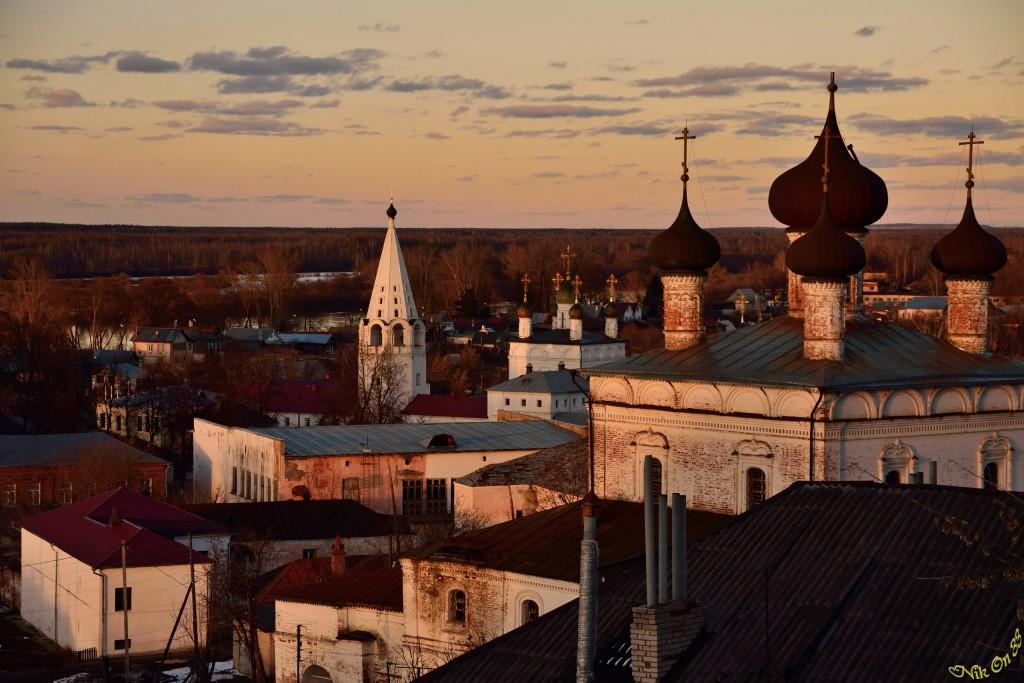 Гороховец, Исторический центр города