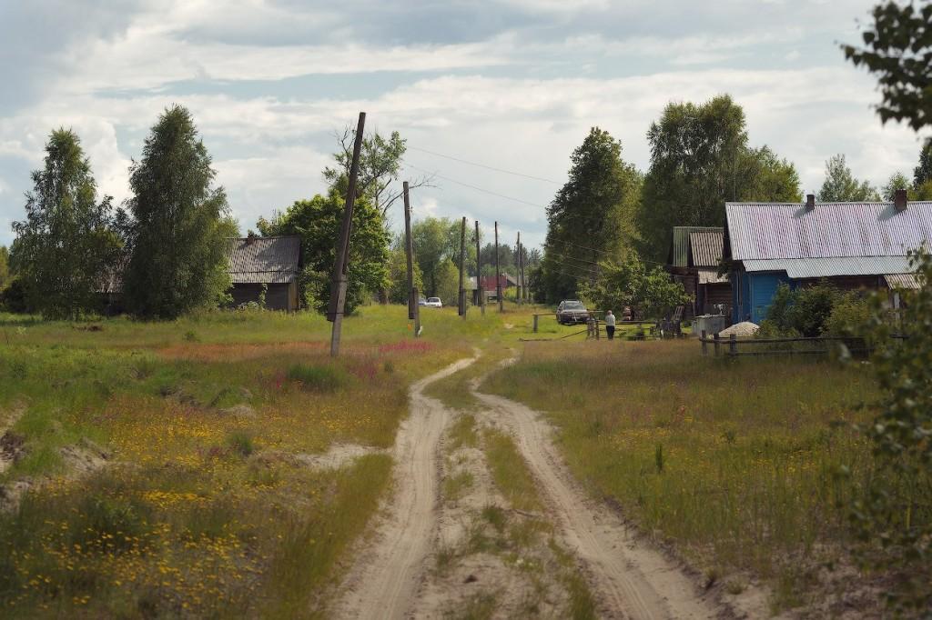 Деревня Двоезеры, Меленковский р-н