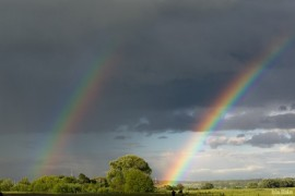 Июньская радуга на Боголюбовском лугу