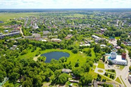 Красоты Александрова с высоты